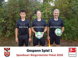Schiedsrichter Pokal 2018