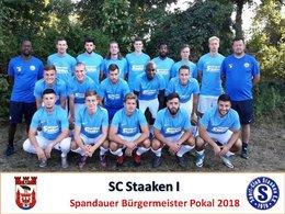 Mannschaften Pokal 2018