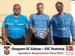 Schiedsrichter Pokal 2014