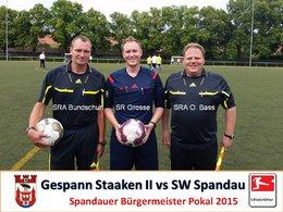 Schiedsrichter Pokal 2015